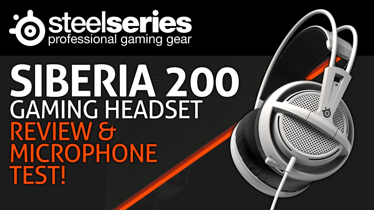 9e3afca20c7 SteelSeries Siberia 200 Gaming Headset Review & Microphone Test! -  HDclub.Me HD и Full HD фильмы, музыка