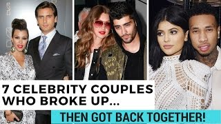 7 Celeb Couples Who Broke Up & Got Back Together! (2016) | Hollywire