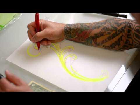 how to draw Filigree