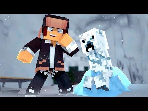 Minecraft : CREEPER DE GELO !! - 24 DESAFIOS DE NATAL