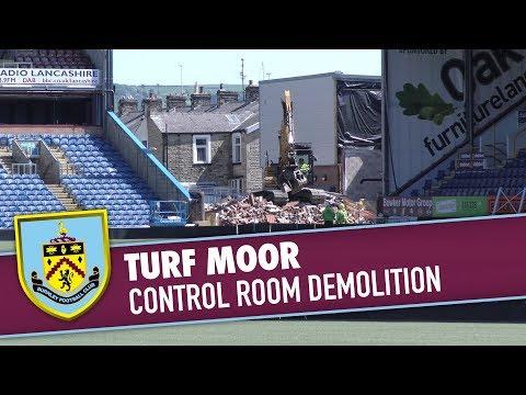 TURF MOOR   Control Room Demolition