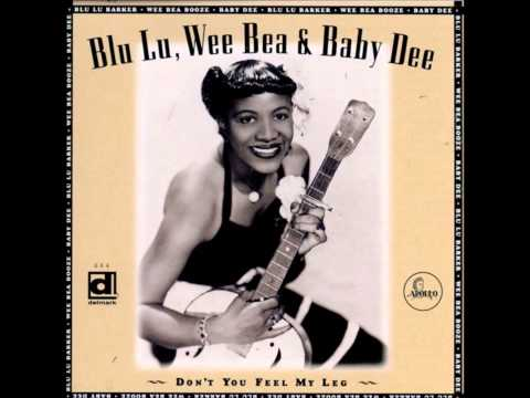 "Blu Lu, Wee Bea & Baby Dee ""Don't You Feel My Leg"".Track :""Lyin' in Jail"""