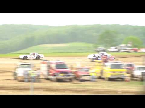 Marion Center Speedway 5/28/16 Pure stock heat 2