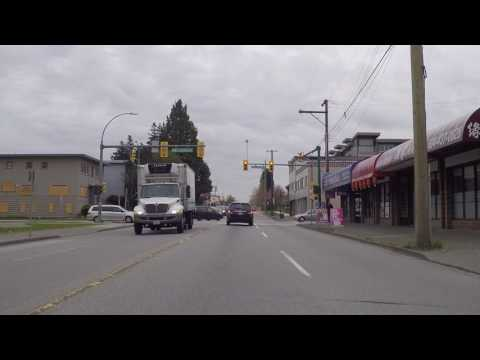 Driving in BURNABY BC Canada - Imperial Street - Exploring the City in Spring