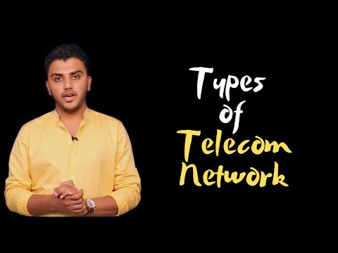 CA IPCC ITSM: Lecture 4: Types Of Telecommunication Network