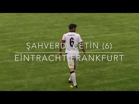 Şahverdi Çetin (6) Maçın adamı (Man of the Match) KSC U17–Frankfurt U17