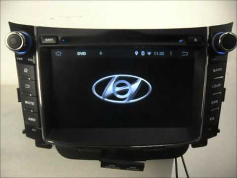 hyundai i30 in dash gps navigation android dvd wifi 3g. Black Bedroom Furniture Sets. Home Design Ideas