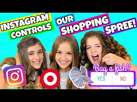 Instagram Followers Control Our Shopping Spree!