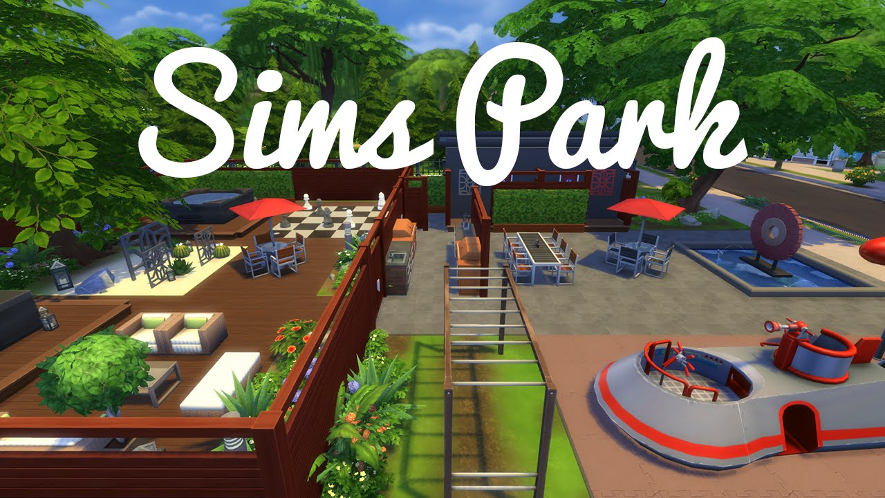 The sims speed build — newcrest park youtube