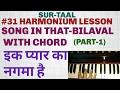 Ek pyar ka nagma hai with chord (Lata mangeshakar)#31Lesson part-1