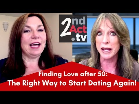 how to start dating again at age 50