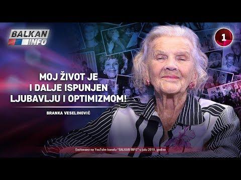 INTERVJU: Branka Veselinović - Moj život je i dalje ispunjen ljubavlju i optimizmom! (22.7.2019)