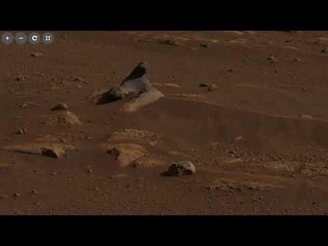Первая Панорама Марса От Марсохода Perseverance (Настойчивость)