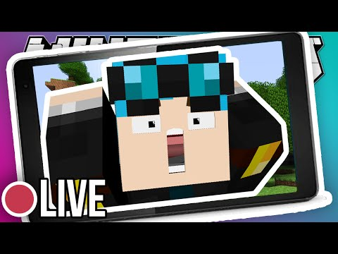 Thumbnail: MINECRAFT POCKET EDITION LIVE!!
