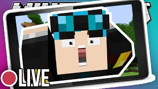 MINECRAFT POCKET EDITION LIVE!!