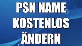 PS4 Namen ändern - PSN ID ändern Tutorial
