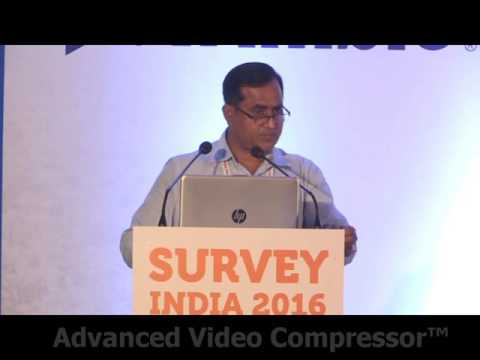 Dr S Kulshrestra, Director, GSI @ Survey India 2016