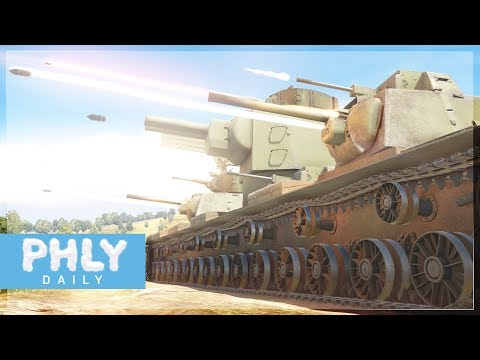 Playable KV-6 SUPER HEAVY TANK | VOLUME WARNING ( War Thunder Tanks)