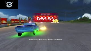Cars 3: Driven to Win - Heartland Countryside Dash Speedrun (0:51.61)