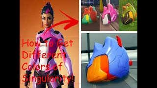 Fortnite How to Get The different colors of Singularity