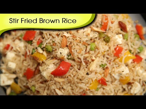 Stir Fried Brown Rice | Healthy Rice Recipe | Divine Taste With Anushruti