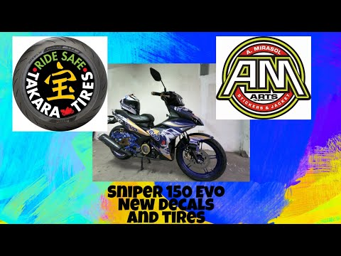 Sniper 150, New Decals and Tires. Gopro Hero 7 Black Review