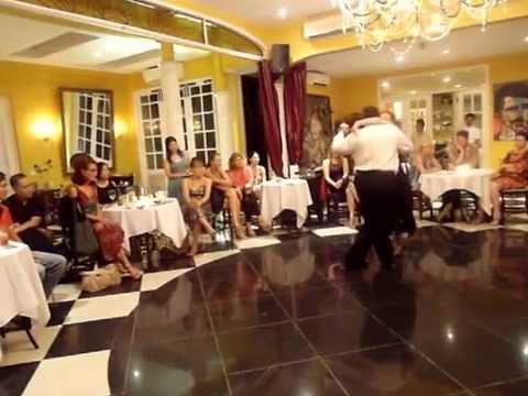 El Pibe Avellaneda & Yvonne Meissner  - exhibition Bali Tango Club 2014