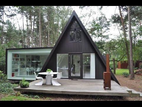 Современные дачи в стиле Хай Тек  - hi-tech  в архитектуре дома