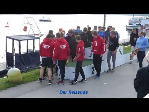 Essen * Baldeneysee * Rote Mühle * Kanupolo Champions League * 24.09.2017 * Siegerehrung Jugend m