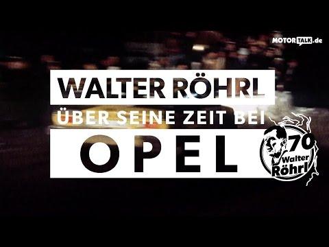 Walter Röhrl und Opel