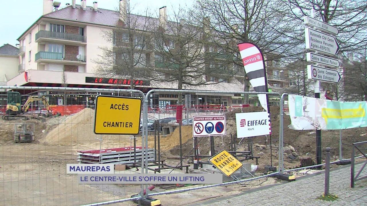 Yvelines | Maurepas : Le centre-ville s'offre un lifting