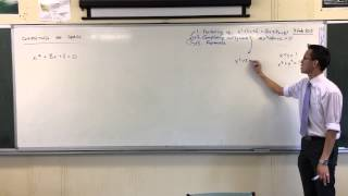 Completing the Square: Why and How