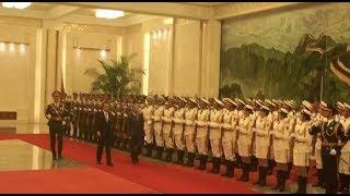 Tun M tiba di The Great Hall of the People