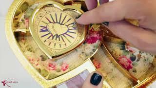 Музыкальная шкатулка с балериной - Сердце