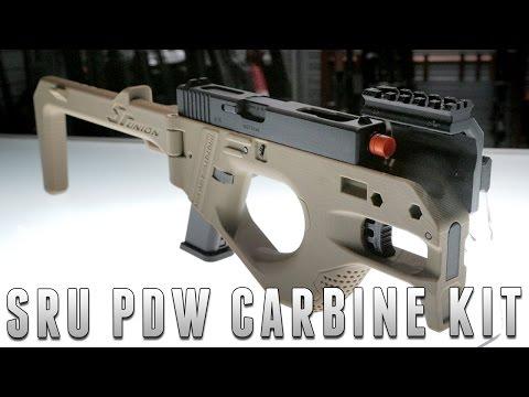 SRU 3D Printed PDW Carbine Kit [The Gun Corner] Airsoft Evike.com