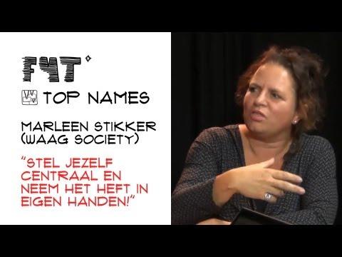 """Marleen Stikker (Waag Society): """"Stel jezelf centraal en neem het heft in eigen handen!"""""""