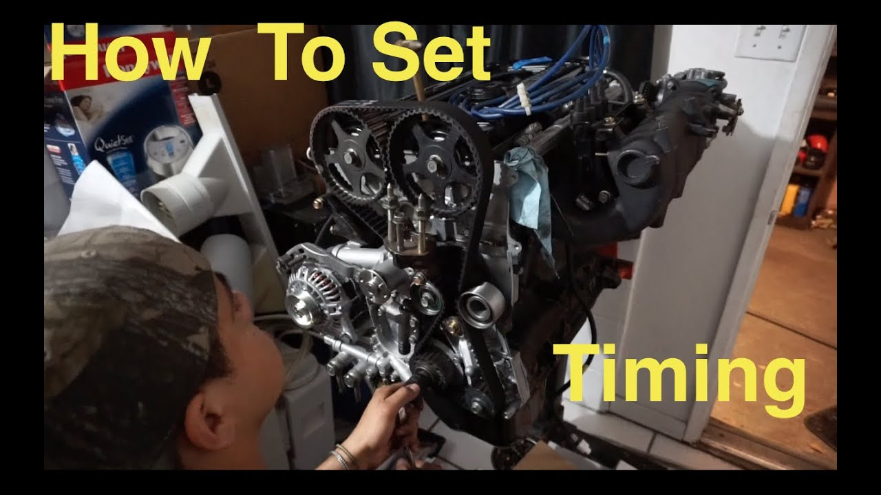 Project 2g Revamped How To Set Timing On A 4g63