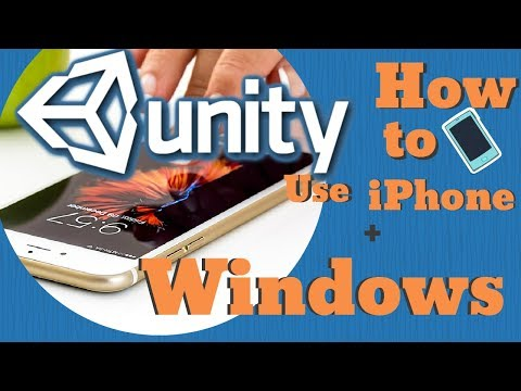 Unity Remote On IPhone With Windows PC (WORKS)