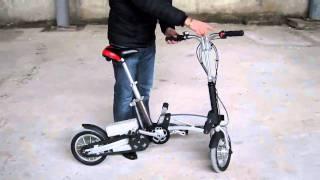Велосипед с электродвигателем KANUNI NEO(Купить раскладной велосипед с электродвигателем на http://kanuni.com.ua Батарея: LI-ON 36V/9A Вес нетто: 17 кг. Трансми..., 2011-01-28T23:56:54.000Z)