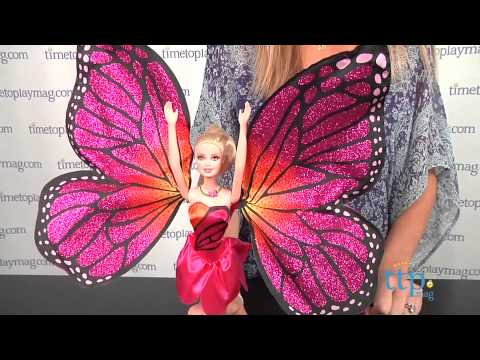 Barbie Mariposa & the Fairy Princess Mariposa from Mattel