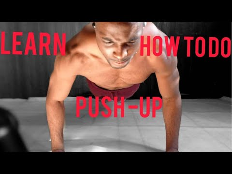 4 DIFFERENT PUSH UP VARIATIONS