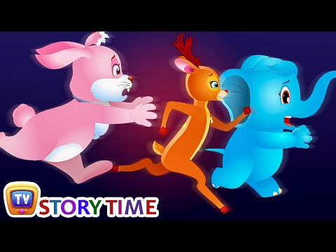 Dream and Scream, The Foolish Rabbit - Bedtime Stories for Kids in English | ChuChu TV Storytime