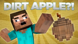 If Dirt Apples Were In Minecraft