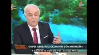 Nihat Hatipoğlu'na 'cünüp' sorusu!