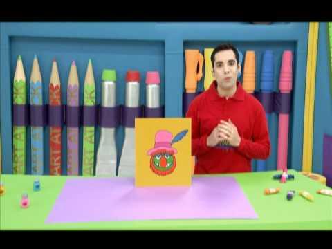 Art attack dibujando al dr dientes con kermit youtube - Videos de art attack manualidades ...