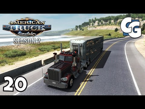 ATS S02E20 - San Francisco to Bakersfield - American Truck Simulator Let's Play