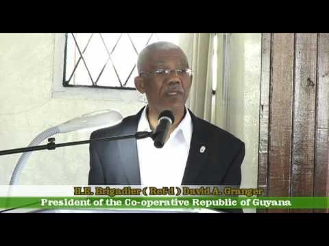 President David Granger's Address to Guyana Defence Force (GDF) Officers - October 15, 2015