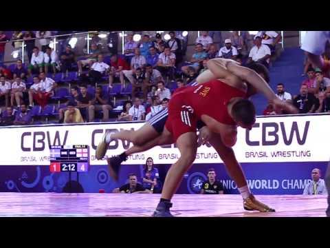 Greco-Roman Wrestlers Go Big at Junior World Championships in Brazil