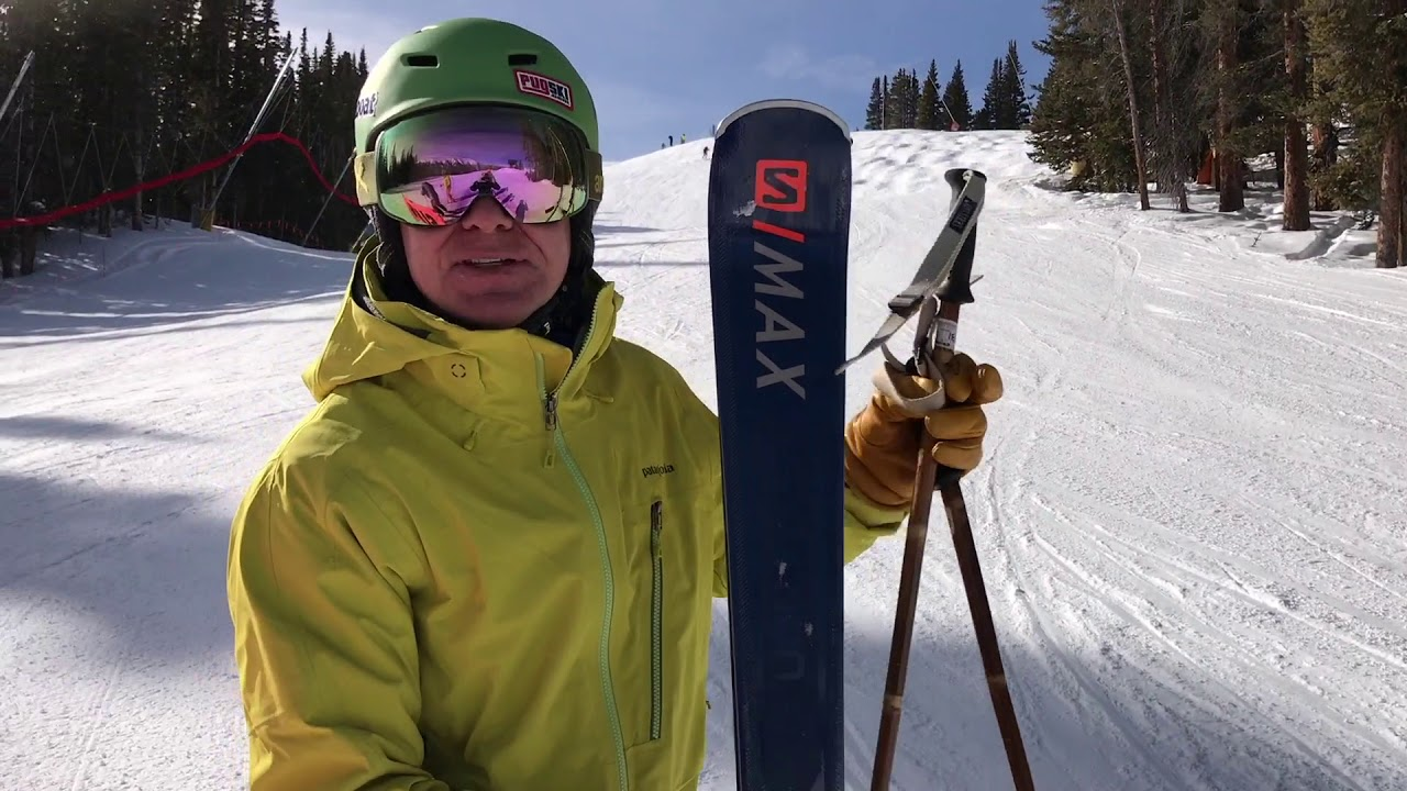 stable quality performance sportswear the best attitude 2019 Salomon S/Max 12 Sneak Peek and Ski Test Review