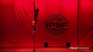 Senior Men Sebastian Hernandez Callejas of Colombia - IPSF World Pole Sports Championships 2018